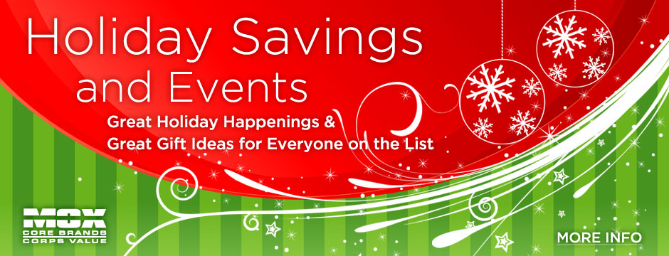 Holiday Savings Web Banner