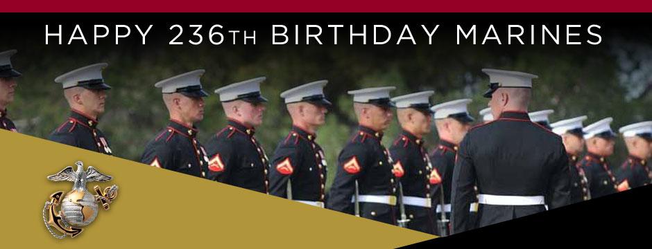 Marine Corps Birthday Web Banner