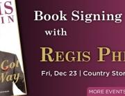 Regis Philbin Book Signing Web Banner