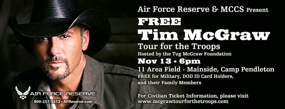Tim McGraw Concert Web Banner