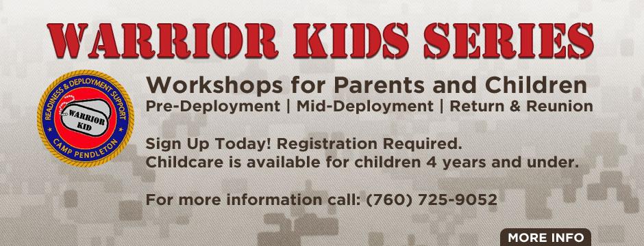 Warrior Kids Series Web Banner