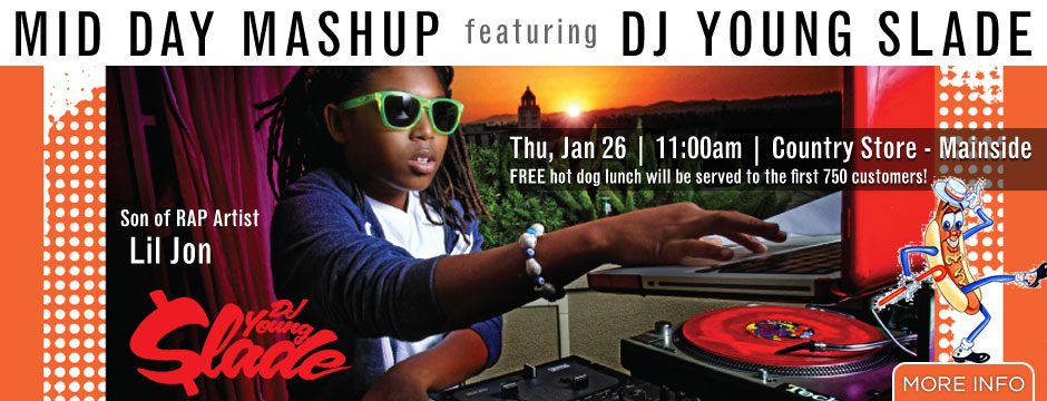"DJ Young Slade - Son of RAP Artist ""Lil jon"" Web Banner"