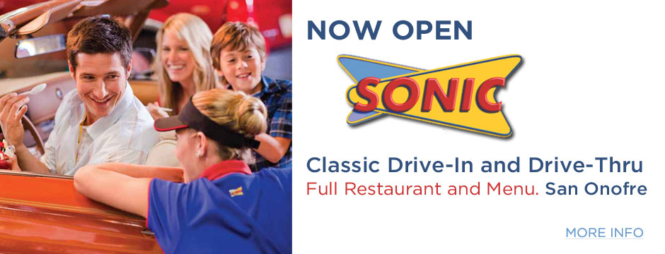 SONIC Now Open Web Banner