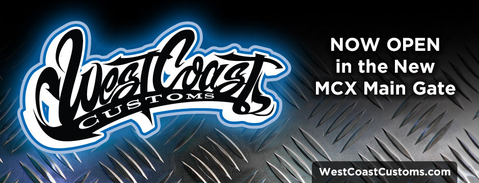 West Coast Customs Now Open Web Banner