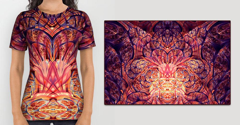 Floractal Energies Shirt