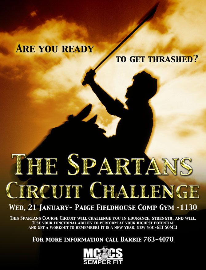 Spartans Circuit Flyer