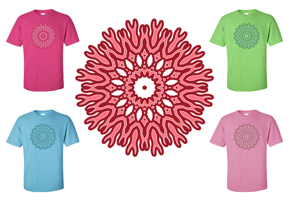 Tribal Flower T-Shirt