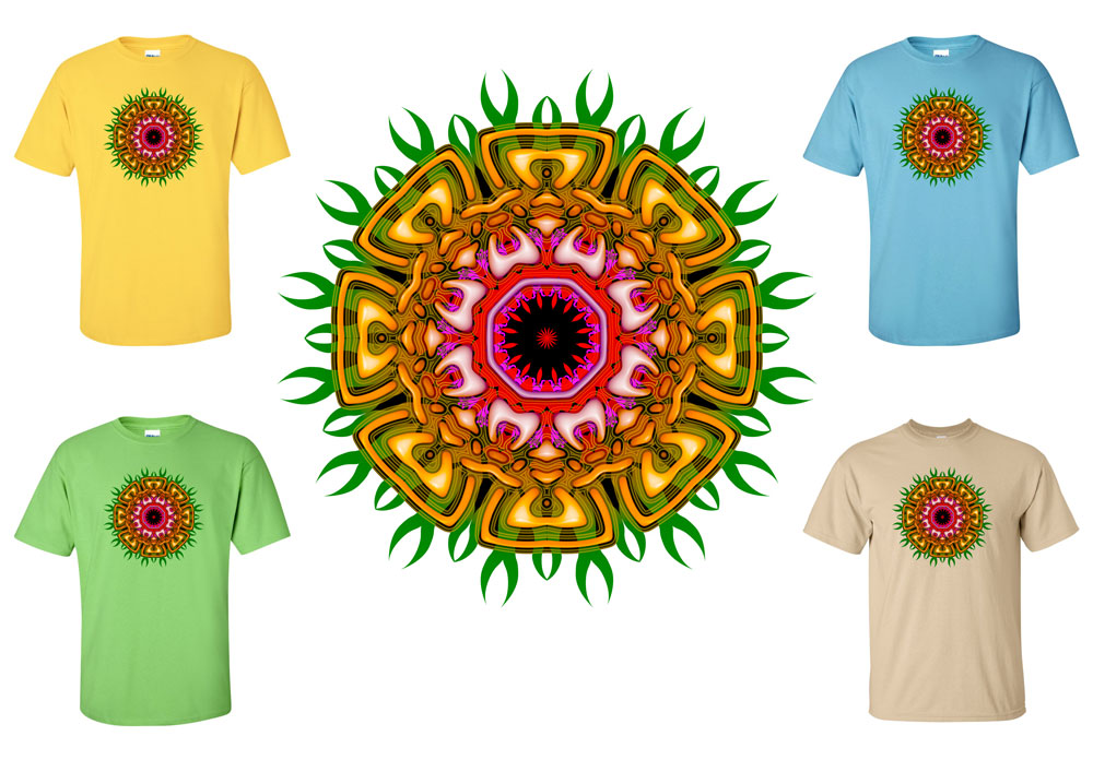 Tribal Mandala T-shirt