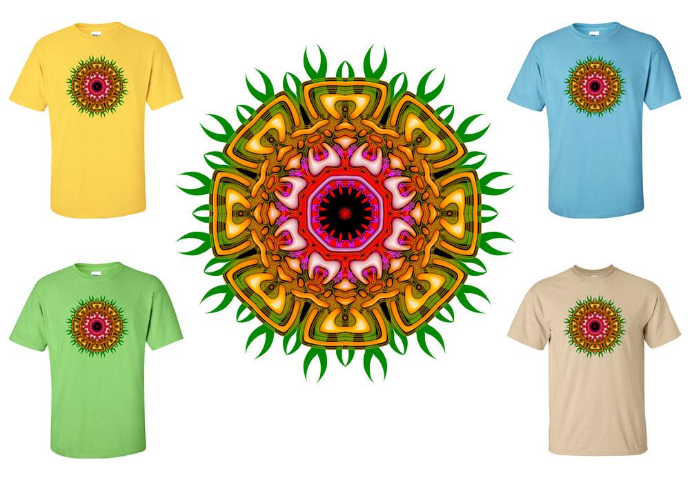 Tribal Mandala T-shirt